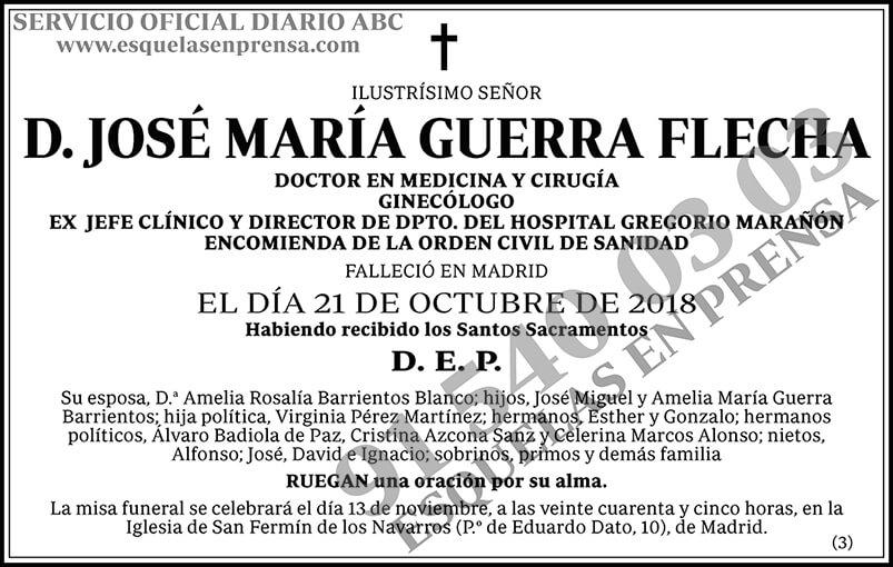 José María Guerra Flecha